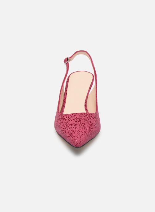 Zapatos de tacón Parallèle Nelsa C Rosa vista del modelo