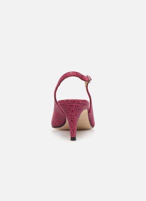 Zapatos de tacón Parallèle Nelsa C Rosa vista lateral derecha