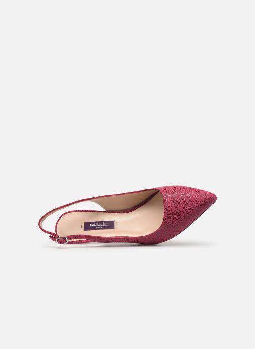 Zapatos de tacón Parallèle Nelsa C Rosa vista lateral izquierda