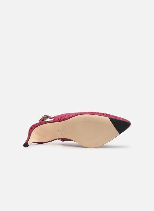 Zapatos de tacón Parallèle Nelsa C Rosa vista de arriba