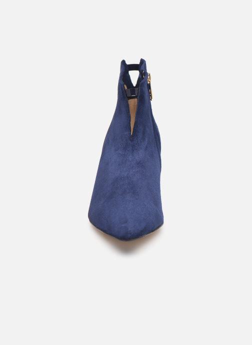 Botines  Parallèle Netty C Azul vista del modelo