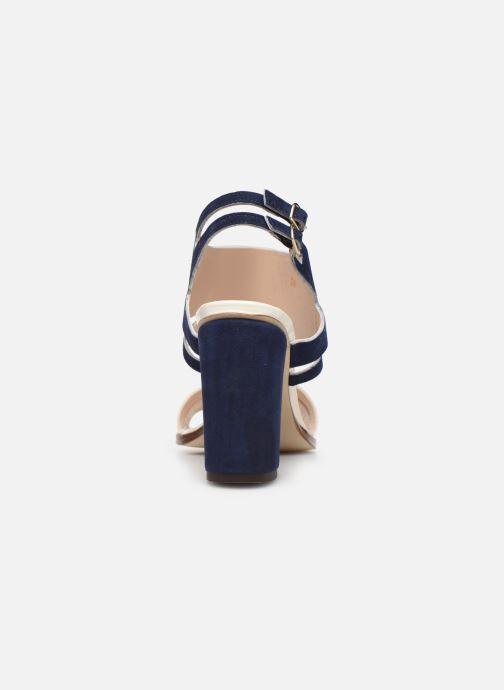 Zapatos de tacón Parallèle Walga C Azul vista lateral derecha