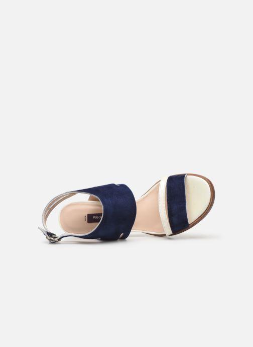 Zapatos de tacón Parallèle Walga C Azul vista lateral izquierda