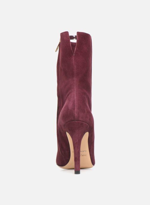 Bottines et boots Parallèle Zecco C Bordeaux vue droite