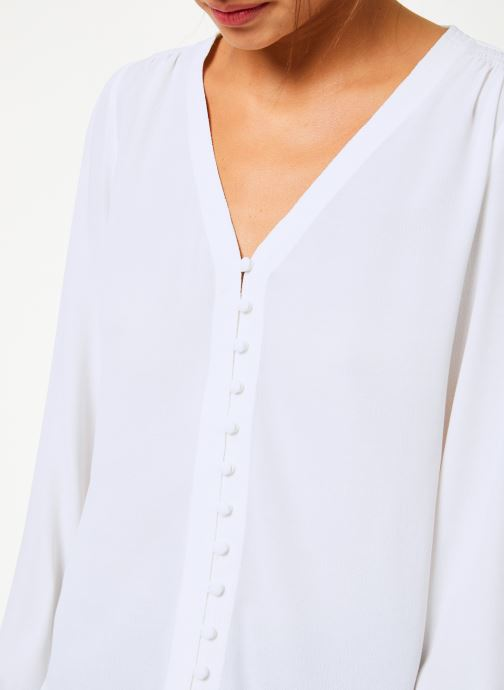 Vêtements Suncoo Blouse Linda Blanc vue face
