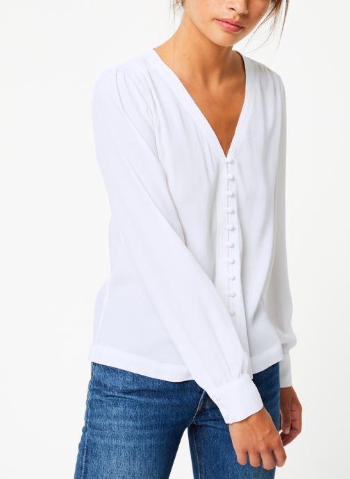 Vêtements Suncoo Blouse Linda Blanc vue droite