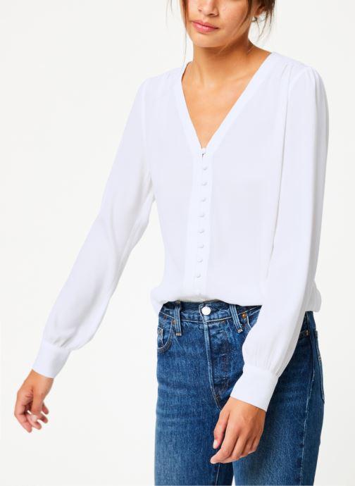 Vêtements Suncoo Blouse Linda Blanc vue détail/paire