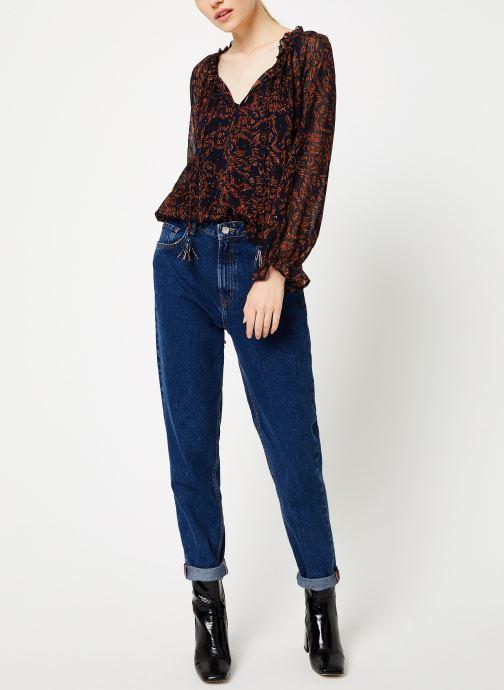 Vêtements Suncoo Blouse Linda Bleu vue bas / vue portée sac