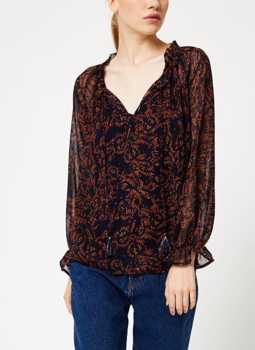 Vêtements Suncoo Blouse Linda Bleu vue droite