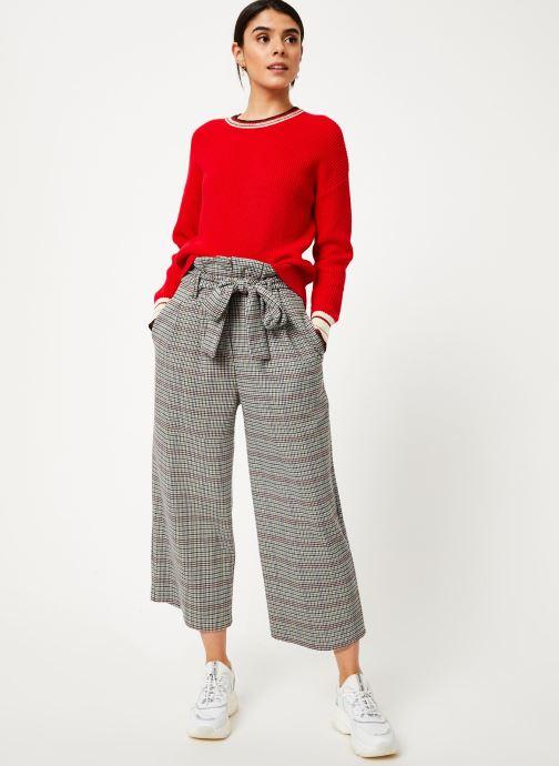 Vêtements Suncoo Pull Praia Rouge vue bas / vue portée sac
