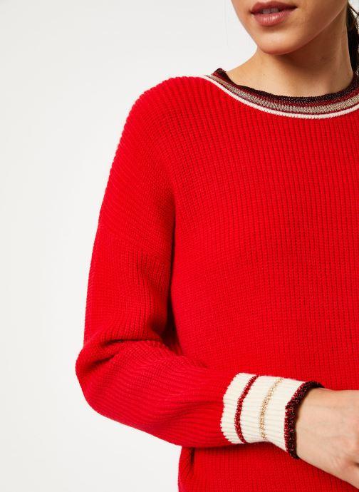 Vêtements Suncoo Pull Praia Rouge vue face