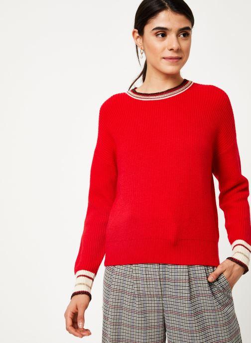 Vêtements Suncoo Pull Praia Rouge vue détail/paire