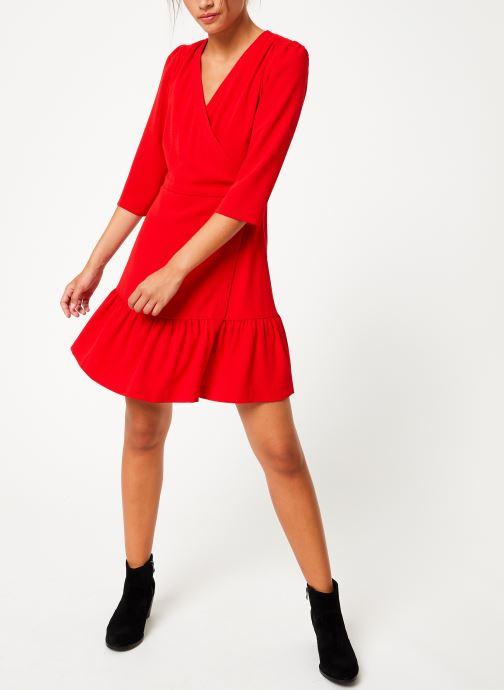Vêtements Suncoo Robe Camilou Rouge vue bas / vue portée sac
