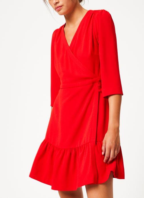 Vêtements Suncoo Robe Camilou Rouge vue droite