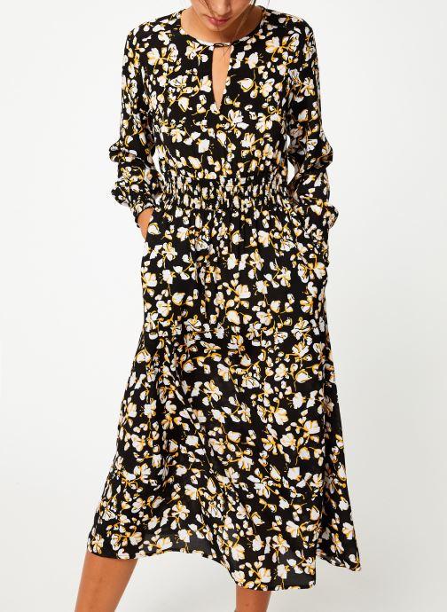 Kleding Suncoo Robe Claire Zwart detail
