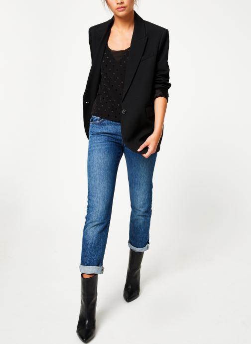 Vêtements Suncoo Top Lili Noir vue bas / vue portée sac