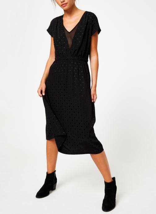 Vêtements Suncoo Robe Caly Noir vue bas / vue portée sac