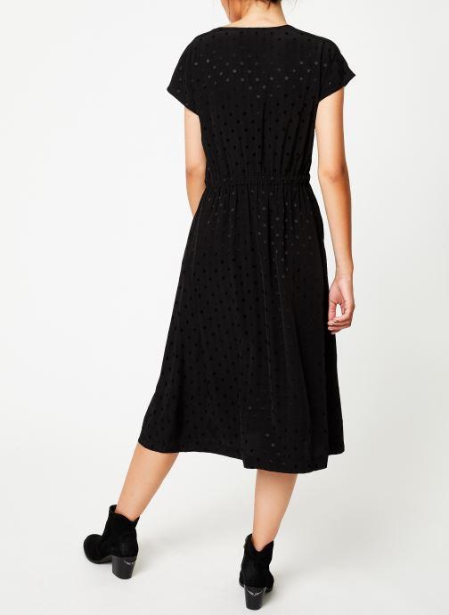Vêtements Suncoo Robe Caly Noir vue portées chaussures