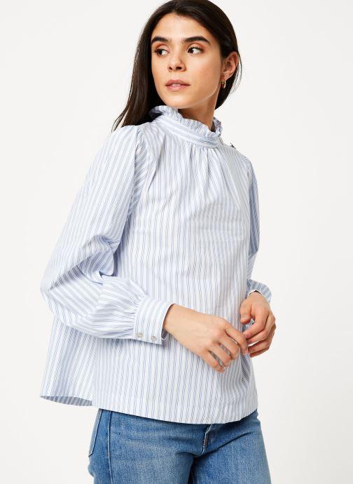 Vêtements Suncoo Blouse Larry Bleu vue droite