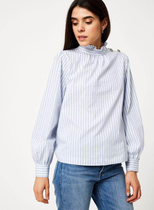 Vêtements Suncoo Blouse Larry Bleu vue détail/paire