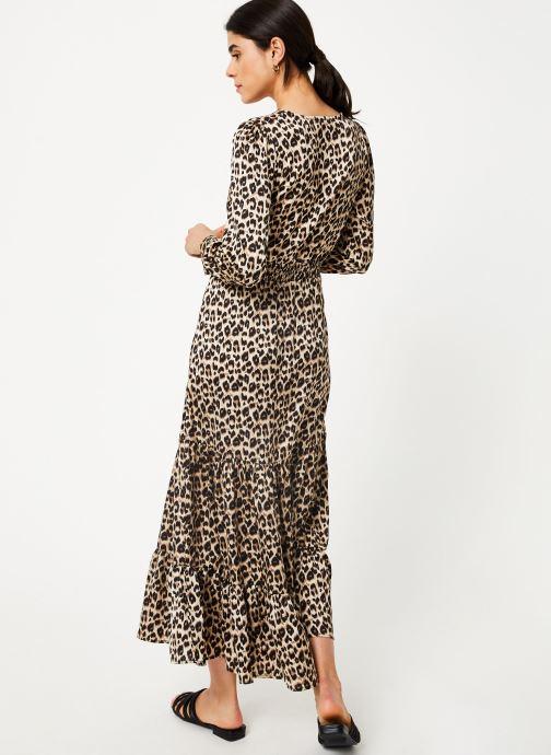 Vêtements Suncoo Robe Cassandra Marron vue portées chaussures