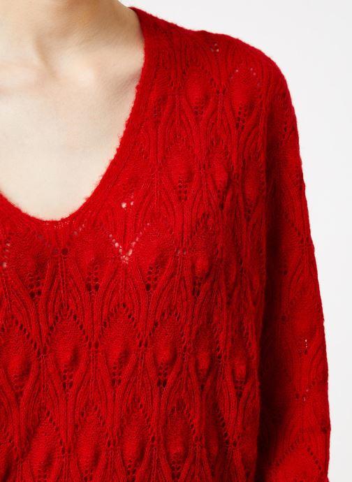 Vêtements Suncoo Pull Patras Rouge vue face