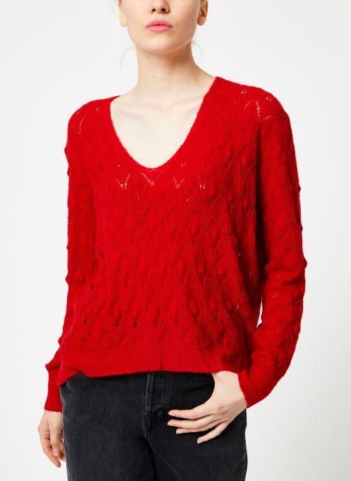Vêtements Suncoo Pull Patras Rouge vue droite