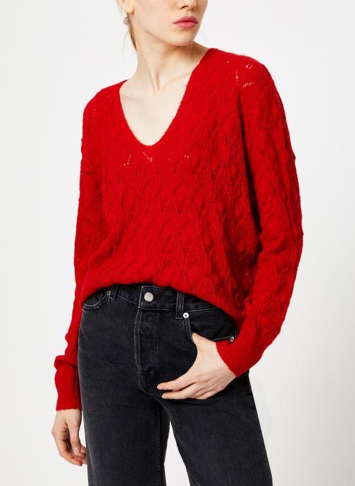 Vêtements Suncoo Pull Patras Rouge vue détail/paire