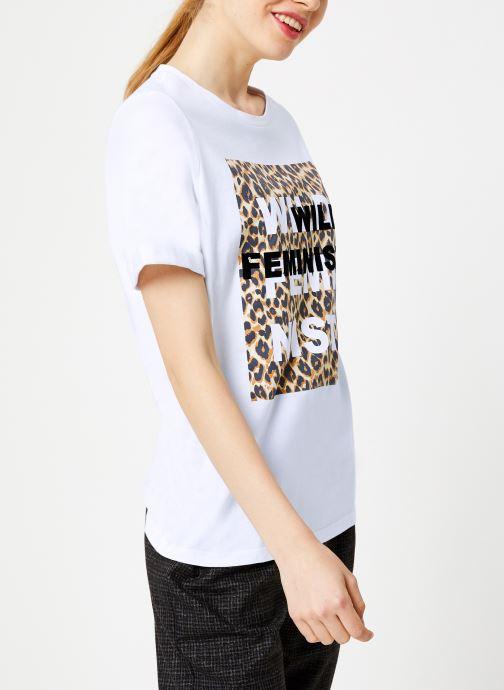 Vêtements Suncoo T-Shirt Missy Blanc vue droite