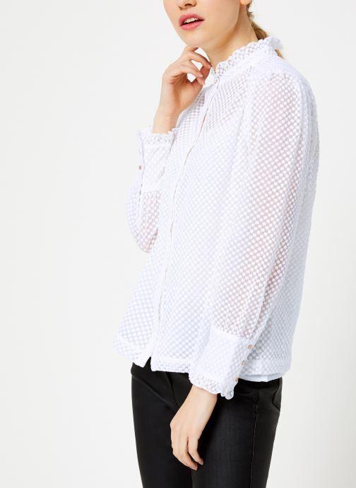 Vêtements Suncoo Chemise Lima Blanc vue droite