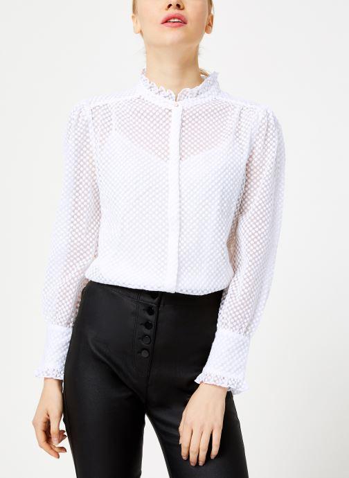 Vêtements Suncoo Chemise Lima Blanc vue détail/paire