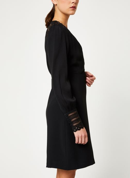 Vêtements Suncoo Robe Cherine Noir vue droite