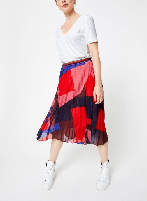 Vêtements Suncoo Jupe France Rouge vue bas / vue portée sac