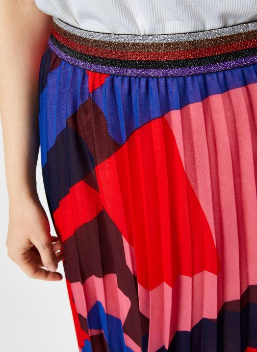 Vêtements Suncoo Jupe France Rouge vue face