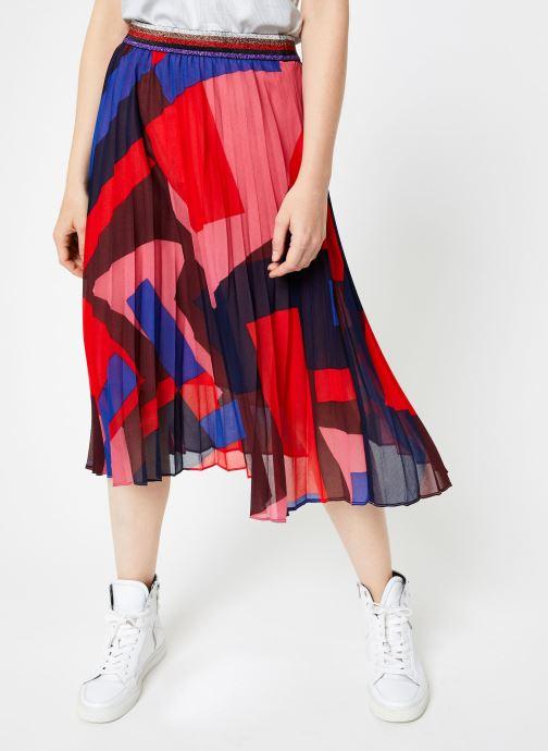 Vêtements Suncoo Jupe France Rouge vue détail/paire