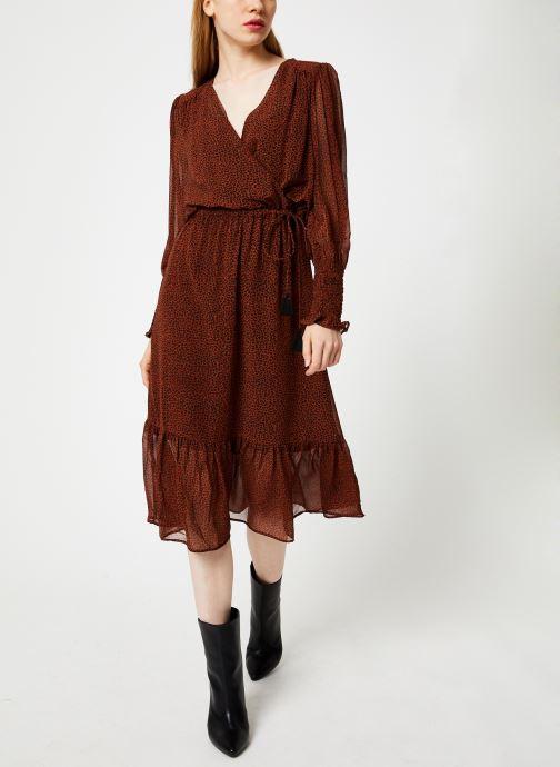 Vêtements Suncoo Robe Calixte Marron vue bas / vue portée sac