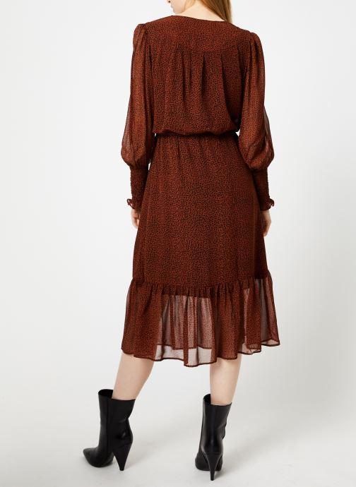 Vêtements Suncoo Robe Calixte Marron vue portées chaussures