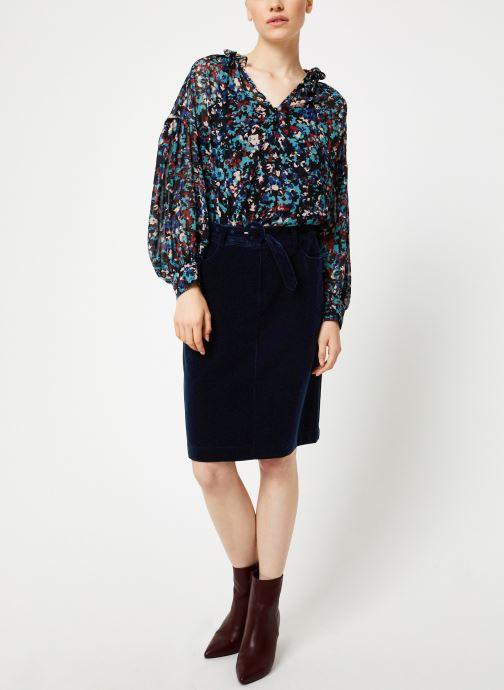 Vêtements Suncoo Blouse Lumia Vert vue bas / vue portée sac