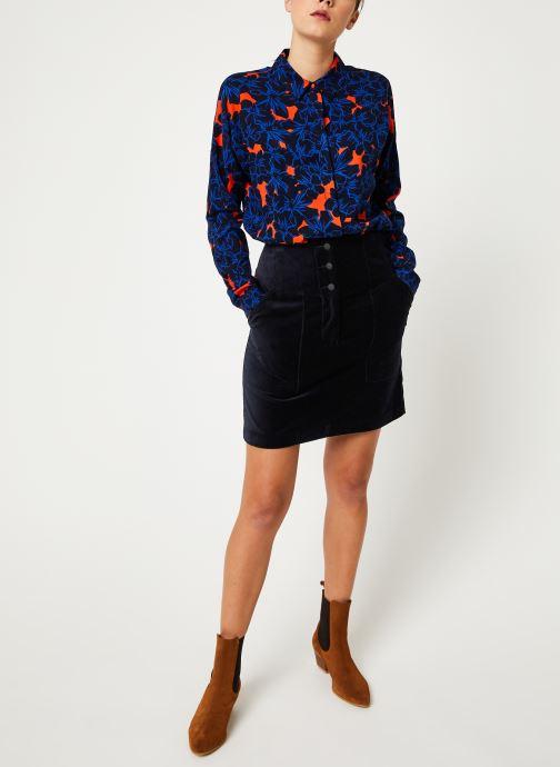 Vêtements Suncoo Chemise Lisemay Bleu vue bas / vue portée sac