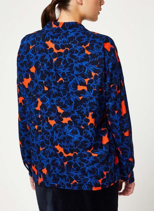 Vêtements Suncoo Chemise Lisemay Bleu vue portées chaussures