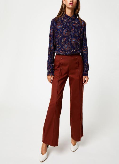 Vêtements Suncoo Chemise Lucille Bleu vue bas / vue portée sac