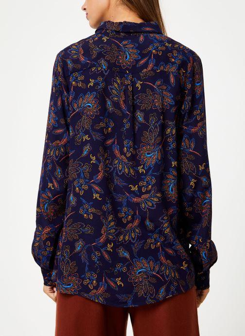 Vêtements Suncoo Chemise Lucille Bleu vue portées chaussures