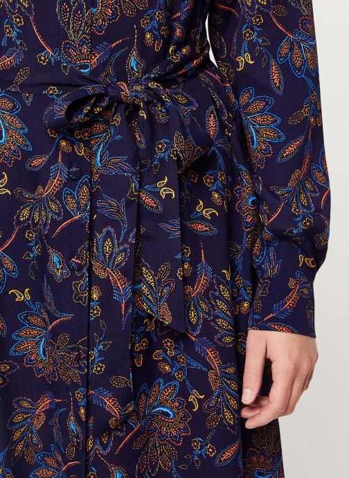 Vêtements Suncoo Robe Chemise Clementine Bleu vue face