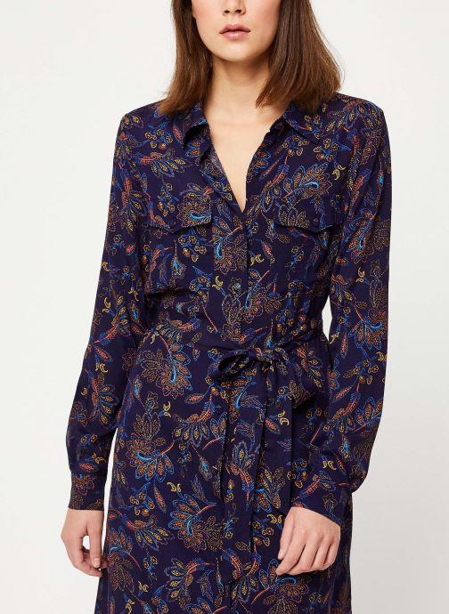 Vêtements Suncoo Robe Chemise Clementine Bleu vue droite