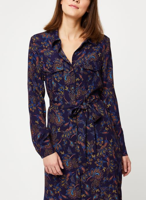 Vêtements Suncoo Robe Chemise Clementine Bleu vue détail/paire