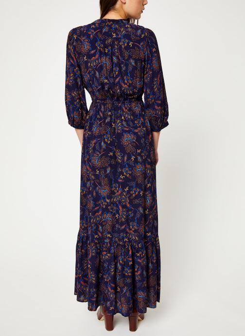 Vêtements Suncoo Robe Celeste Bleu vue portées chaussures