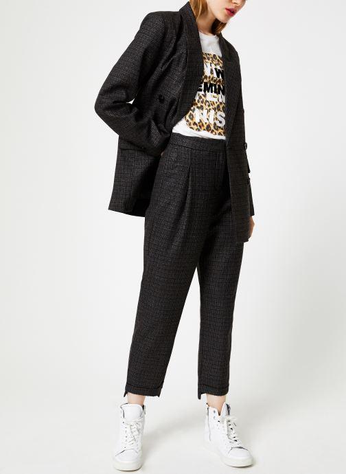 Vêtements Suncoo Pantalon Jessy Gris vue bas / vue portée sac