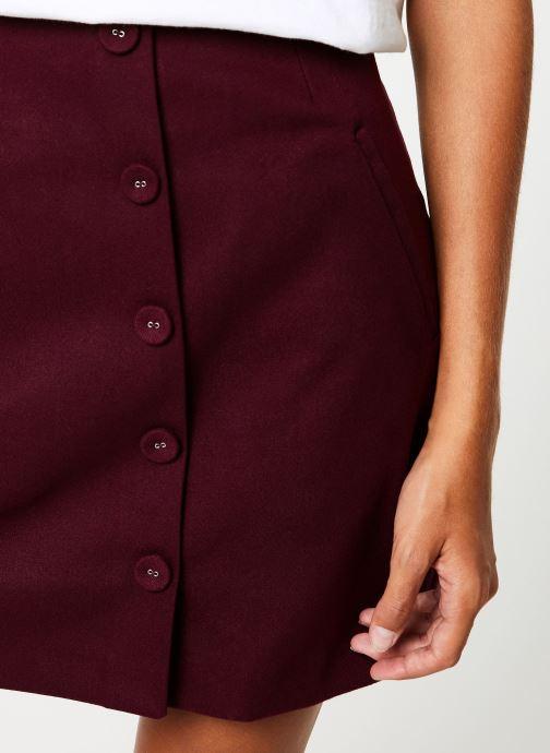 Vêtements Suncoo Jupe Ficelle Bordeaux vue face