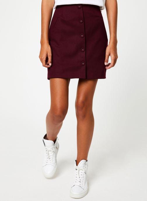 Vêtements Suncoo Jupe Ficelle Bordeaux vue détail/paire