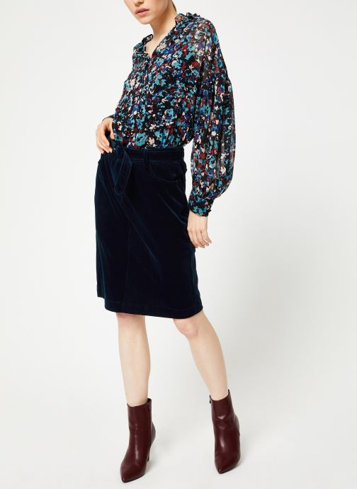 Vêtements Suncoo Jupe Felix Bleu vue bas / vue portée sac